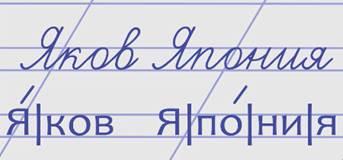 знакомство с буквой я на уроке литературы 1 класс